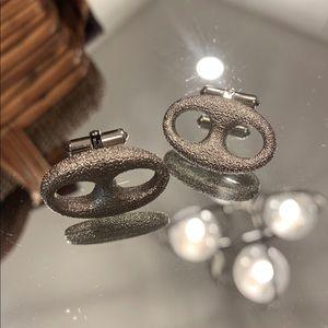 Vintage Christian Dior Infinity Cuff Links